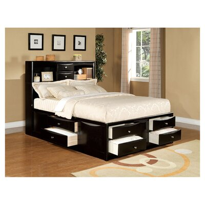 <strong>Wildon Home ®</strong> Louis Philippe II  Storage Panel Bed