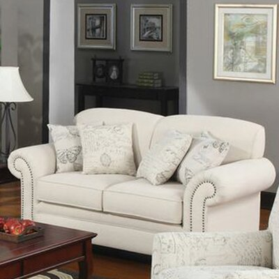 <strong>Wildon Home ®</strong> Capetown Linen Blend Loveseat