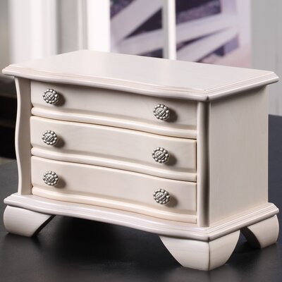 Wildon Home ® Irina Jewelry Box in Off White