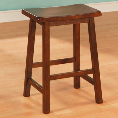 "Wildon Home ® Aloha 24"" Stool in Walnut"