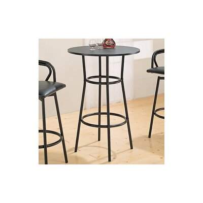 "Wildon Home ® Pitkin 28"" Bar Table in Black"