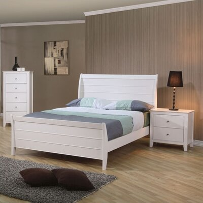 Wildon Home ® Twin Lakes Sleigh Bedroom Collection