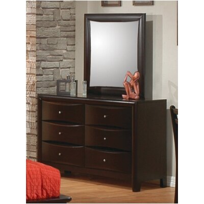 Wildon Home ® Applewood 6 Drawer Dresser