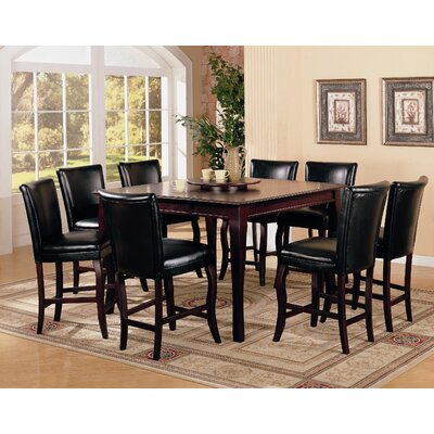 Wildon Home ® Hoyt 9 Piece Counter Height Dining Set