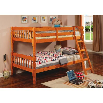 Wildon Home ® Seattle Twin over Twin Bunk Bed