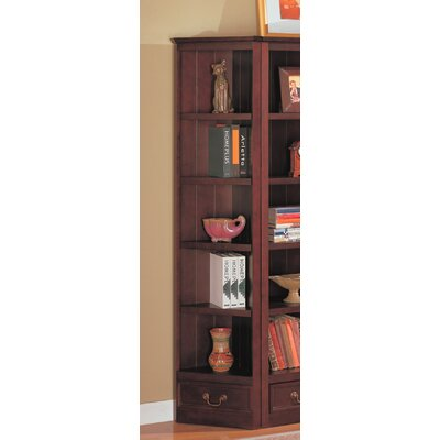Wildon Home ® St. Paul Bookcase Wall Unit in Cappuccino