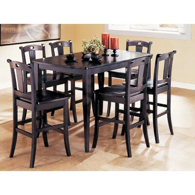 Wildon Home ® Cavalla 7 Piece Counter Height Dining Set