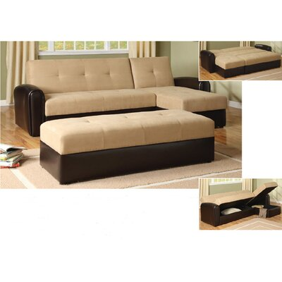 Wildon Home ® Logan Convertible Sectional