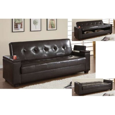 Wildon Home ® Klik Klak Convertible Storage Sofa