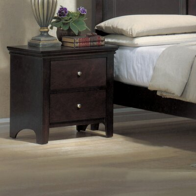 Wildon Home ® Montgomery 2 Drawer Nightstand