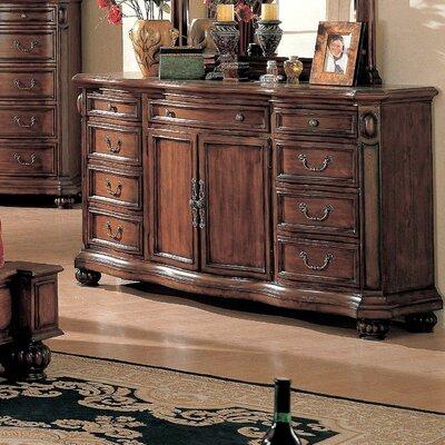 Wrigley 9 Drawer Combo Dresser