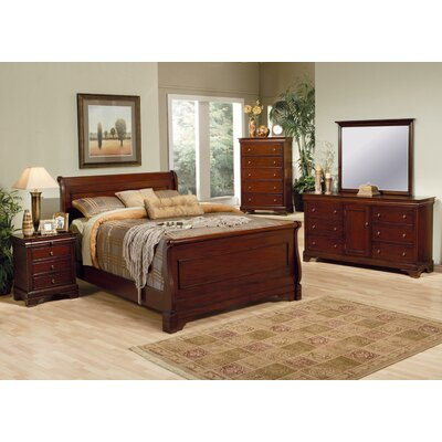 Wildon Home ® Kearny Sleigh Bedroom Collection