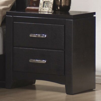 Wildon Home ® Kearny 2 Drawer Nightstand