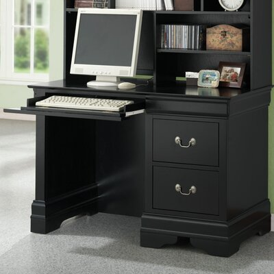 Wildon Home ® Hayden Louis Philippe Computer Desk