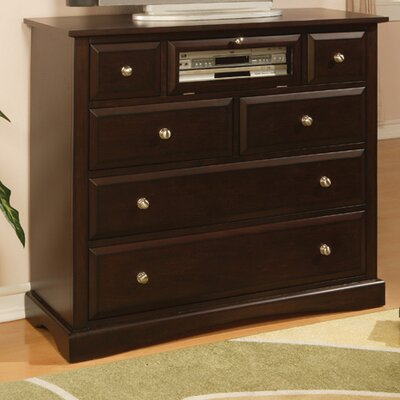 Wildon Home ® Nantucket Media 6 Drawer Chest