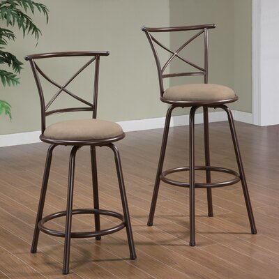 Wildon Home ® Klinge Barstool in Brown