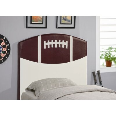 Wildon Home ® Bowdoin Football Twin Upholstered Headboard