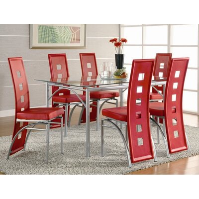 Wildon Home ® North Berwick 7 Piece Dining Set