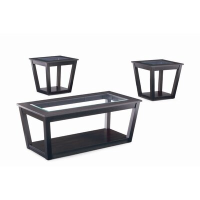 Wildon Home ® Amalga 3 Piece Coffee Table Set