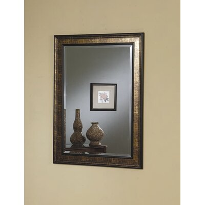 Wildon Home ® Sumner Mirror in Black and Copper