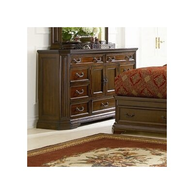 Wildon Home ® Moscow 9 Drawer Combo Dresser