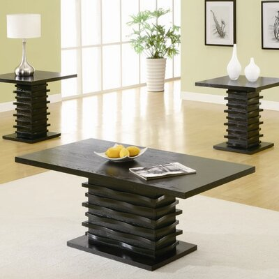Wildon Home ® Bingham 3 Piece Coffee Table Set