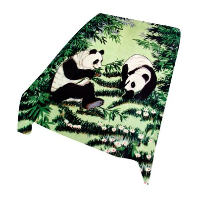 Wildon Home ® Acrylic Mink Duke Panda Blanket