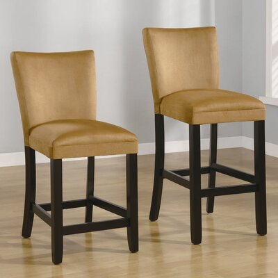 "Wildon Home ® 24"" Bar Stool in Gold"