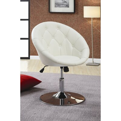 Wildon Home ® Hebron Swivel Chair in White