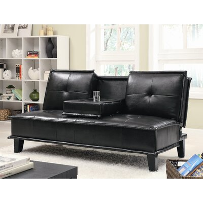 Wildon Home ® Milford Vinyl Sleeper Sofa