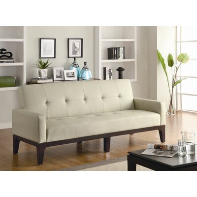 Wildon Home ® Vinyl Sleeper Sofa
