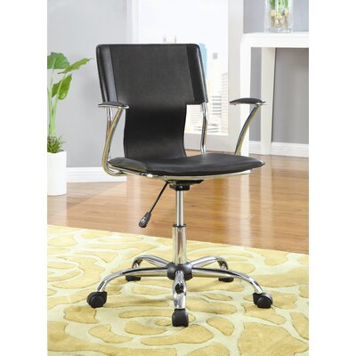 "Wildon Home ® Rochester 35"" Mid-Back Executive Chair"