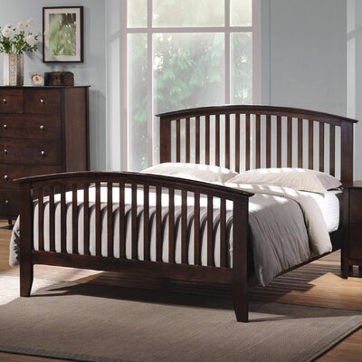 Wildon Home ® Emhouse Slat Bed (Queen Size)