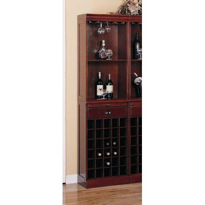 Wildon Home ® Buffalo Gap Wall Bar Unit in Cherry