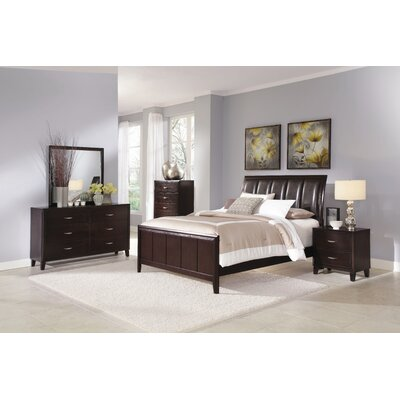 Wildon Home ® Clinton Panel Bedroom Collection