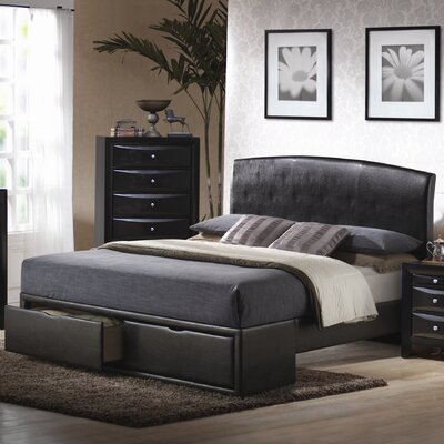 Wildon Home ® Wood's Hole Storage Panel Bed