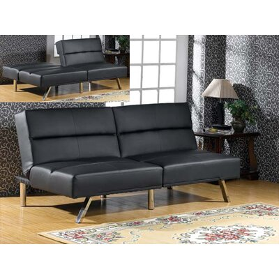 Wildon Home ® Vinyl Sleeper Sleeper Sofa