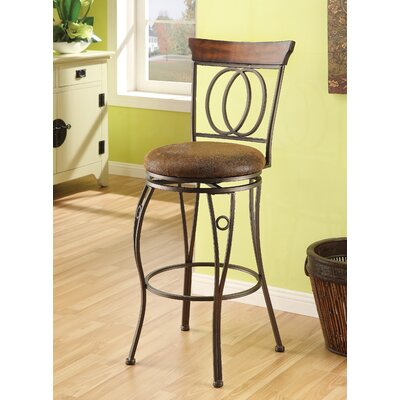 Wildon Home ® Tavio Swivel Metal Barstool