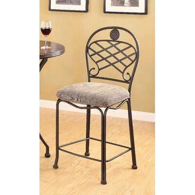 Tavio Metal Frame Back Counter Height Chair