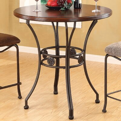 Wildon Home ® Tavio Curved Leg Bar Table