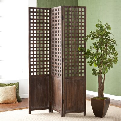 "Wildon Home ® 70.25"" 3 Panel Room Divider"