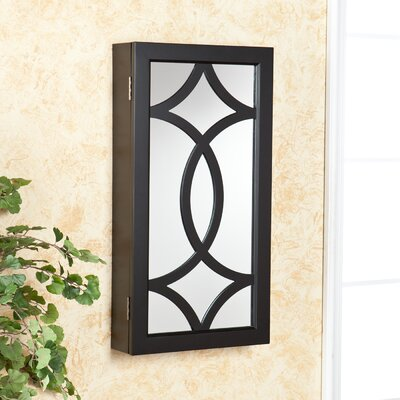 Wildon Home ® Wall Mount Jewelry Mirror