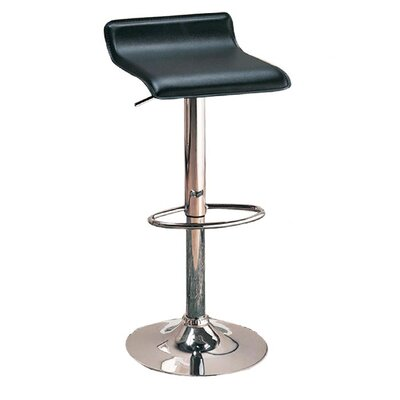 "Wildon Home ® Colorado City 29"" Barstool with Footrest in Black"