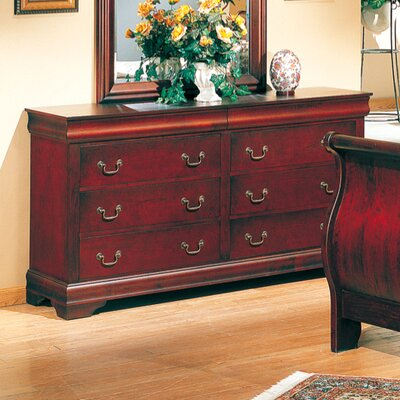 Louis 6 Drawer Dresser