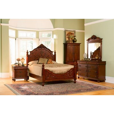 Wildon Home ® Isabella Panel Bedroom Collection