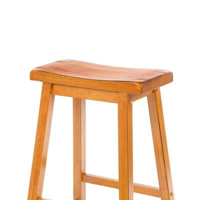 "Wildon Home ® Aloha 29"" Bar Stool in Oak"