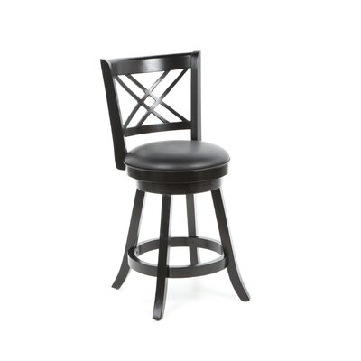 "<strong>Wildon Home ®</strong> Jackman 24"" Swivel Bar Stool"