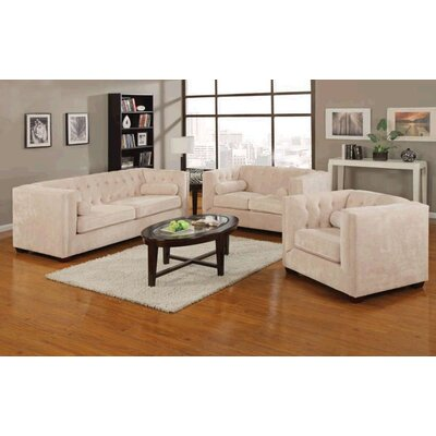 Wildon Home ® Alexa Velvet Living Room Collection