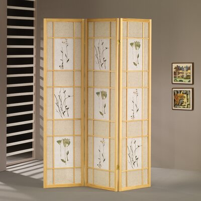 Wildon Home ® 3 Panel Shoji Screen