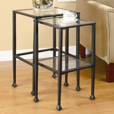 Wildon Home ® Thorndike 2 Piece Nesting Tables